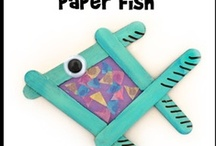 Fish and Under-the-Sea Crafts / Ocean crafts and under-the-sea crafts / by Danielle's Place of Crafts