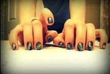 Fancy nails. / by Aisha Ruffin
