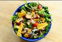 Salads and Salad Dressings / by Lydia @ The Thrifty Frugal Mom
