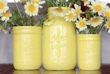 M.E. Jar joy / Ideas for a gift jar swap between my Mailbox Envy girls  / by Tina D.