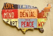 Map Love / by Kim Christensen