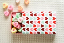 CELEBRATE : Valentines / pretty little board sprinkled with hearts and love. / by Confetti Sunshine