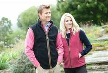Schoffel Gilets / Schoffel mens Oakham and ladies Lyndon gilets / by A Hume Country Clothing