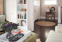 DESIGN: living space | home / Design inspiration for home living spaces. / by Andrea's Notebook