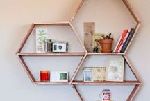 DIY: wall decor / Cut, paint and sew your own wall decor. / by Andrea's Notebook