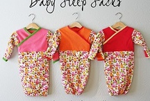 SEW: baby / Ideas, inspiration and tutorials to sew for babies and toddlers. / by Andrea Pannell