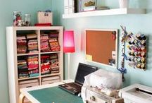 DESIGN: sewing space / by Andrea's Notebook