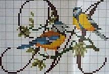 cross stitch multi color / by Marjolein Griffioen