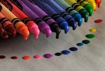 Multicolor, multicolore, rainbow / by Clara Delcroix