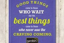 gardein | food for thought / simply to inspire you to live healthier. / by gardein
