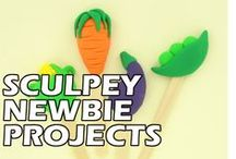 Sculpey Newbie Projects / New to the wonderful world of clay? Check out these easy, DIY projects from sculpey.com that are perfect for a beginner.  / by Sculpey