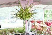 Event Decor - Flower Centerpieces / by Kasey Conyers