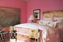 interiors: bedroom / by Sally Osborne