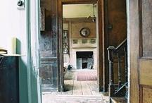 interiors: hallways & staircases / by Sally Osborne