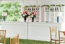 Event Decor - Beverage Stations / by Kasey Conyers