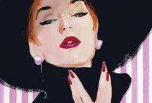 Artist: Rene Gruau... / by Esperanza Wild