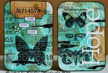 Paper: Altered Cards... / ...ATCs, ICADs, Inchies... / by Esperanza Wild