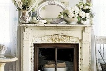 HOME: Fireplaces / Fireplaces that warm the heart and the home. / by Stephanie @ Garden Therapy