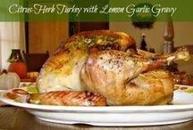 Thanksgiving Recipes / The kitchen may be the heart of the home but recipes are the heart of giving thanks / by Laura and Angela