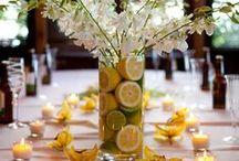 Citrus Theme Wedding / by Leanne Valdes