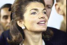 RIP... CLASSY LADY!  / Jackie Bouvier Kennedy Onassis / by Maryann Cavallaro-Turley