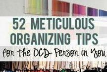Organization / Maybe one day I'll actually look at these things and get my home less cluttered... ha!! / by Melanie Ann