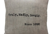 Truly  Madly Deeply / by Helena Sampaio