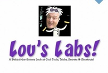 """Lou's Labs: Free Online Tips, Tools and Resources / Here you'll find all the FREE, 30-minute """"Lou's Labs"""" webinars, loaded with online tools, tips and tricks to help you and your business! / by Lou Bortone"""