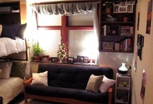 Dorm Ideas & Life / Get ideas for organizing and decorating your dorm room (or small apartment).  / by CIM Cleveland Institute of Music