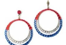 USA / Made in USA Jewelry / All Anne Koplik is jewelry is hand-made in the USA! lead & Nickle Free. Be proud to be an American and wear red, white and blue! / by Anne Koplik Designs