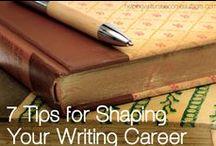 Writing! / Helpful hints for writing. / by Rachel Jackson