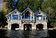 Boathouses...boats...etc. / by J. Smith