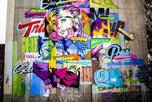 Street Art / Awesome and interesting street art / by Rachel Jones