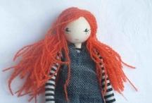 diy dolls, bears, solfties, .... / by Elenor Martin