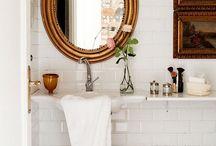 Bathroom / Interior design  / by Stefania@coolchicstyle