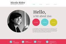 NIKKI / Design inspiration for professional educator's website. / by Elizabeth Stilwell | The Note Passer