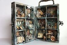 Printers Trays and Display Cases / by Tania Ahmed