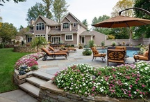 BACKYARD oasis / My home inside and out is my second passion! Nothing like the serenity of the garden. / by Deanna Rose
