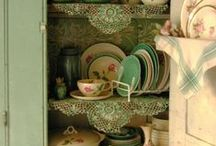 GRANNY'S KITCHEN #1 / things in the kitchen / by Debby Moore