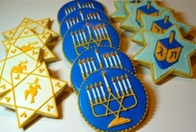 hanukkah,foods,crafts,etc / by Jennyshere BC