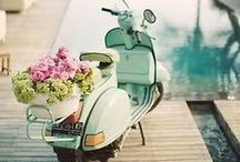 ::  Vespa :: / Fellow pinners ; please feel free to repin as much as you wish / by Avery Joy Paris