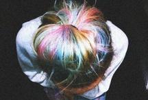 Color Hair / by Ana Carolina Gerhardt Peres