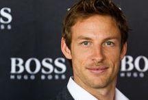 Jenson Button / by Liz Zamudio