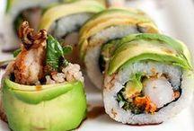 Sushi / by Megan Ancheta   Allergy Free Alaska