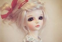 Doll faced / BJDs / by Skyler Tilley