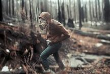 This is it, the apocalypse / Apocalyptic fashion, survival tips, and zombies.  / by Skyler Tilley