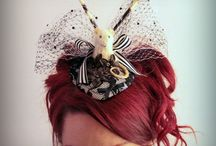 Fun Hats! / Top hats, fascinators, feathers ... / by Laurie Cable Olsson