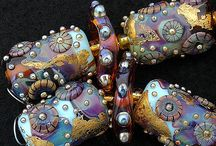 Great Beads / I love beautiful glass lamp work and beads of all kinds! / by Laurie Cable Olsson
