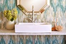 home | bathrooms / salle de bains / by Mae Badiyan