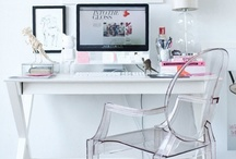 home | omg offices / stylish + functional office spaces / by Mae Badiyan